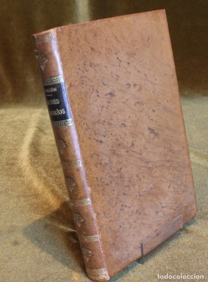 """AMORES Y AMORÍOS""""DE PEDRO A. DE ALARCON. EDITADO POR A. DE CARLOS E HIJO, 1875 (Libros antiguos (hasta 1936), raros y curiosos - Literatura - Narrativa - Novela Romántica)"""
