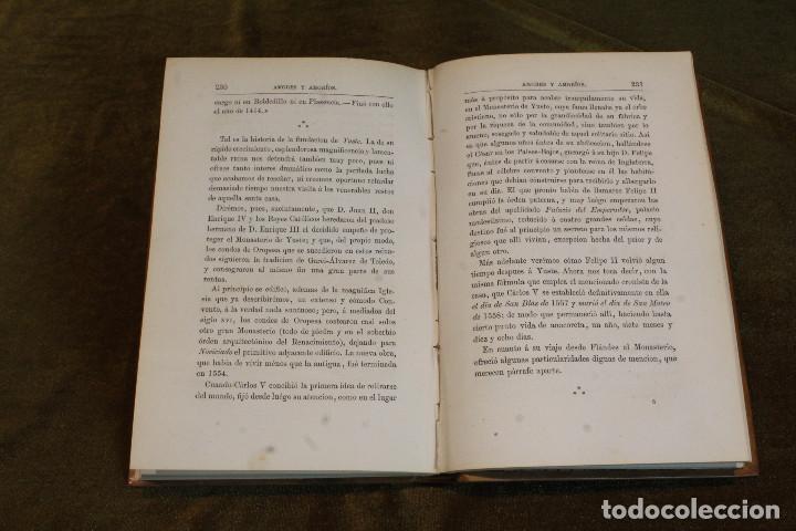 """Libros antiguos: Amores y amoríos""""de Pedro A. de Alarcon. Editado por A. de Carlos e hijo, 1875 - Foto 4 - 207945910"""
