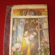 Libros antiguos: ROSA MARIA - MARIO D'ANCONA - EDITORIAL GERRI. 960 PAGINAS. Lote 208685321