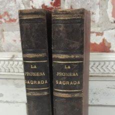 Livres anciens: LA PROMESA SAGRADA. ENRIQUE PEREZ ESCRICH. IMP. GUIJARRO. 1880?. 2 TOMOS. Lote 209752815