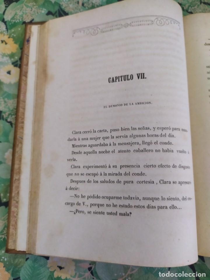 Libros antiguos: 1865. La ambición en la mujer. Novelas populares ilustradas. Antonio Altadill. - Foto 4 - 210240325
