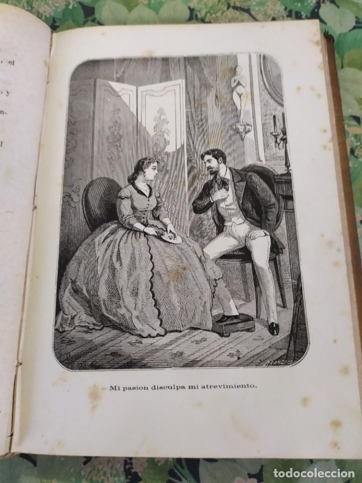 Libros antiguos: 1865. La ambición en la mujer. Novelas populares ilustradas. Antonio Altadill. - Foto 5 - 210240325