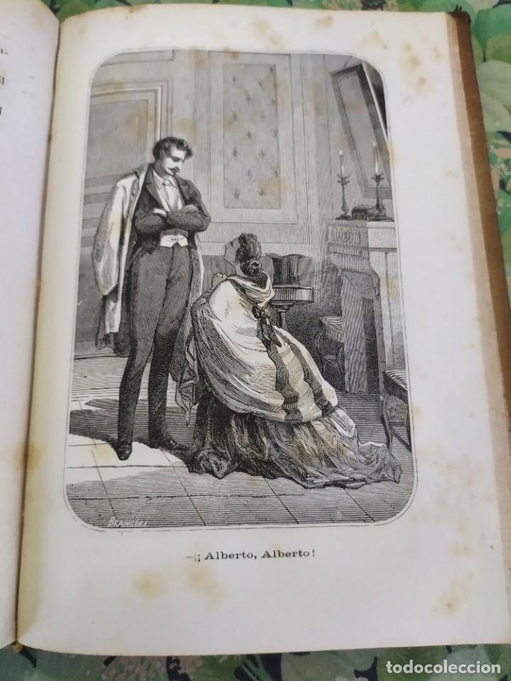 Libros antiguos: 1865. La ambición en la mujer. Novelas populares ilustradas. Antonio Altadill. - Foto 6 - 210240325