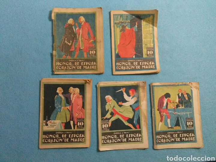 Libros antiguos: Antiguas novelas de honor de esposas corazon de madre ,1920 - Foto 2 - 211440055