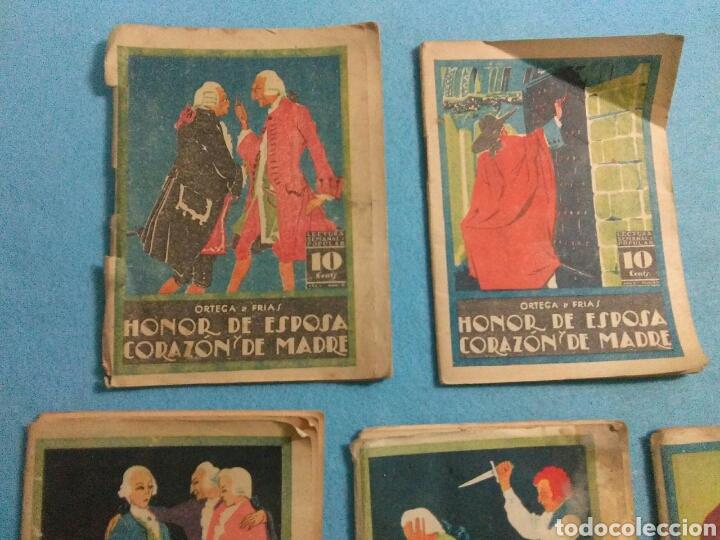 Libros antiguos: Antiguas novelas de honor de esposas corazon de madre ,1920 - Foto 3 - 211440055