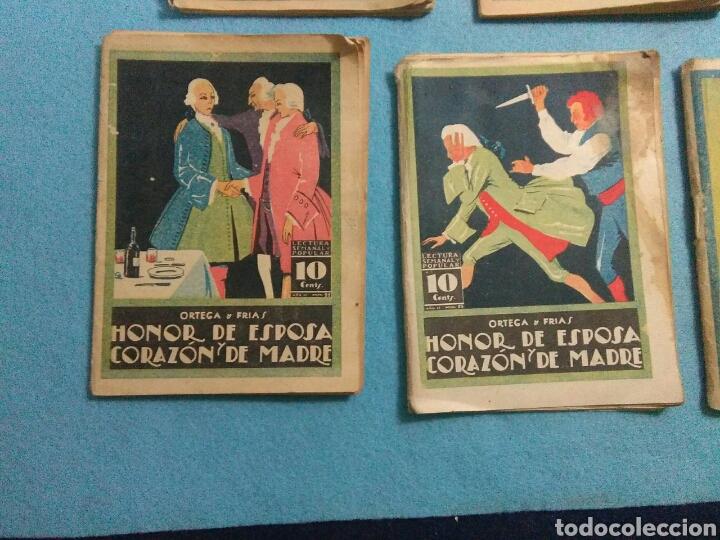 Libros antiguos: Antiguas novelas de honor de esposas corazon de madre ,1920 - Foto 4 - 211440055