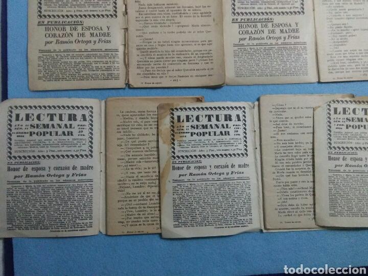 Libros antiguos: Antiguas novelas de honor de esposas corazon de madre ,1920 - Foto 7 - 211440055