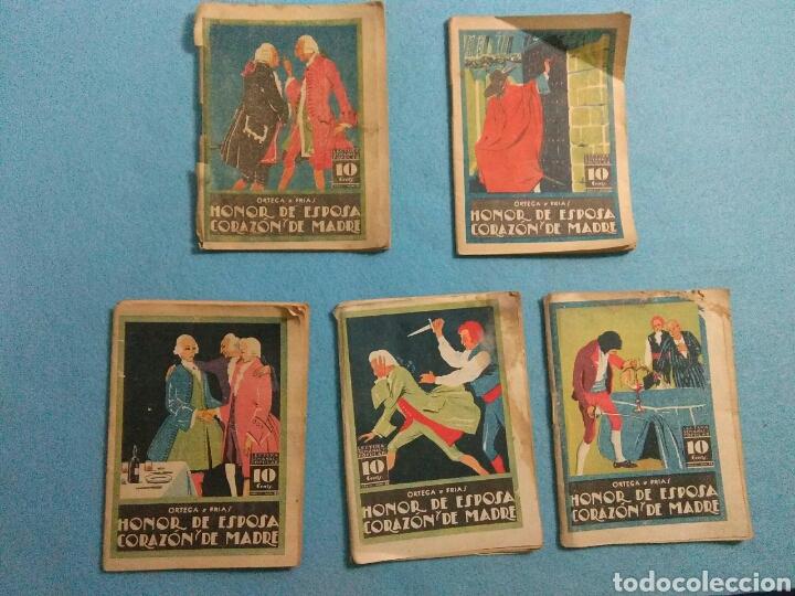 ANTIGUAS NOVELAS DE HONOR DE ESPOSAS CORAZON DE MADRE ,1920 (Libros antiguos (hasta 1936), raros y curiosos - Literatura - Narrativa - Novela Romántica)