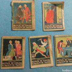 Libros antiguos: ANTIGUAS NOVELAS DE HONOR DE ESPOSAS CORAZON DE MADRE ,1920. Lote 211440055