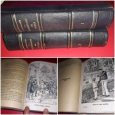 Libros antiguos: EL SANTUARIO DEL HOGAR DE JULIÁN CASTELLANOS Y VELASCO ILUSTRADA OBRA DE 2 TOMOS COMPLETA. Lote 213480055