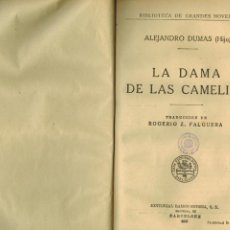 Libros antiguos: LA DAMA DE LAS CAMELIAS. Lote 218367205