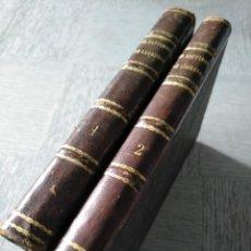 Libros antiguos: EL BAUTISMO DE LÁGRIMAS (1866) - 2 TOMOS - COMPLETO EN LÁMINAS. Lote 218934165