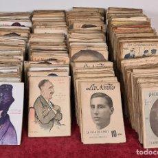 Libros antiguos: COLECCION DE 1019 PUBLICACIONES LITERARIAS. NOVELA. VER DESCRIPCION. CIRCA 1920.. Lote 221227712