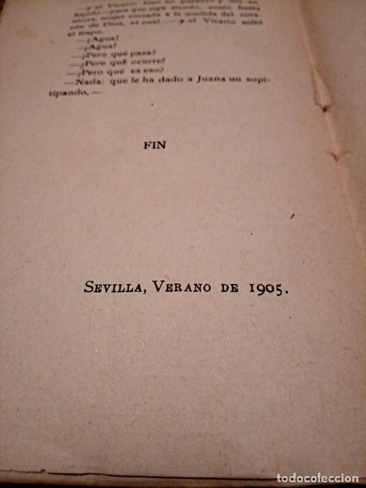 Libros antiguos: JUEGOS FLORALES. NOVELA TOMO I - TOMO II. MUÑOZ Y PABÓN, JUAN F. SEVILLA. 2 ª ED. 1905 - Foto 4 - 221415036