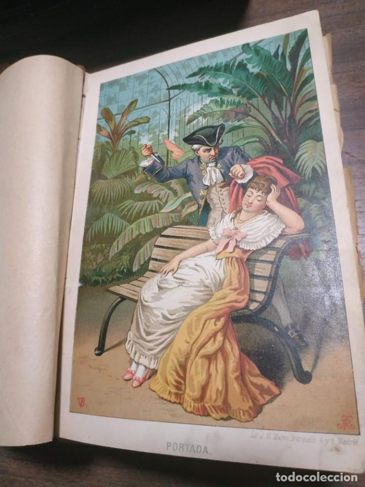 Libros antiguos: Luchar contra el destino. Julian Castellanos y Velasco. 1885 - Foto 2 - 221505442