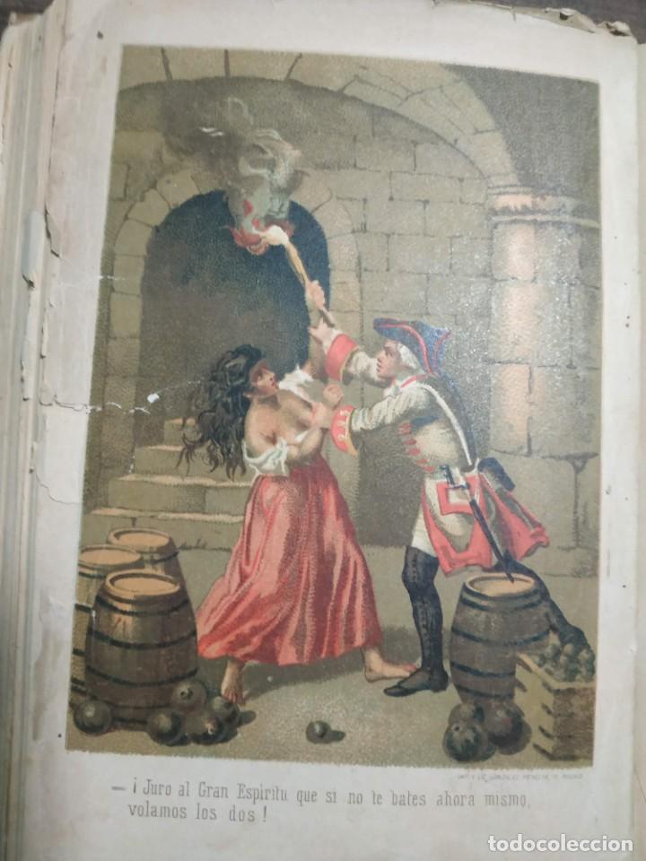Libros antiguos: Luchar contra el destino. Julian Castellanos y Velasco. 1885 - Foto 5 - 221505442