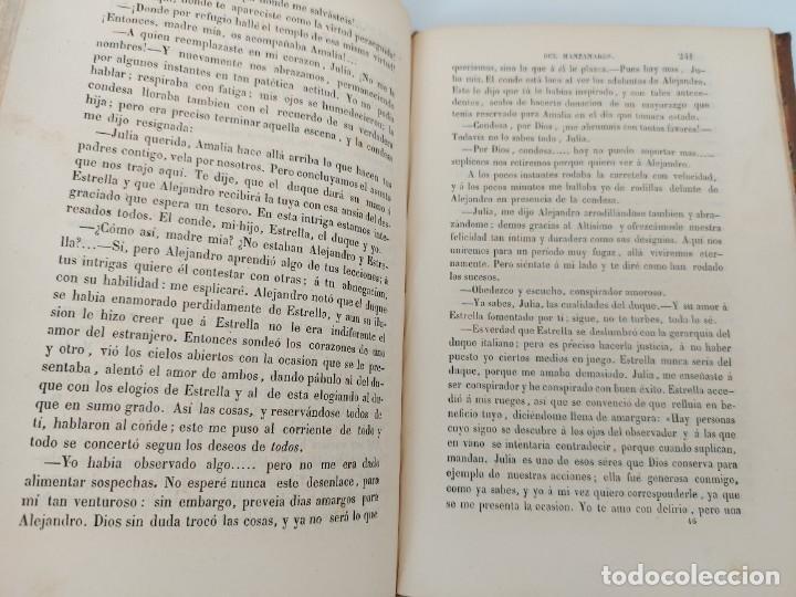 Libros antiguos: LA HUÉRFANA DEL MANZANARES - OBRA DE INSTRUCCIÓN MORAL POR JOSE DIAZ VALDERRAMA - 1856 - MADRID - LI - Foto 4 - 224324846