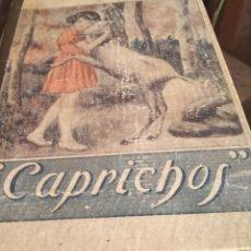 Libros antiguos: CAPRICHOS. Lote 224359397