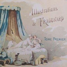 Libros antiguos: CONTES DE LA FONTAINE, 1 TOME, JEAN DE LA FONTAINE, FRAGONARD, ILLUSTRATEUR, LE VASSEUR, 1891. Lote 225997060