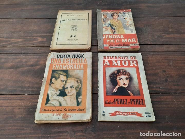 Libros antiguos: LOTE 8 NOVELAS LA NOVELA ROSA - AÑOS 20s, 30s y 40s - EDITORIAL JUVENTUD, BARCELONA - Foto 3 - 226442840