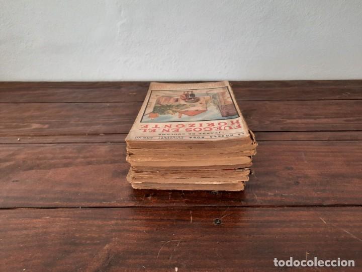 Libros antiguos: LOTE 8 NOVELAS LA NOVELA ROSA - AÑOS 20s, 30s y 40s - EDITORIAL JUVENTUD, BARCELONA - Foto 4 - 226442840