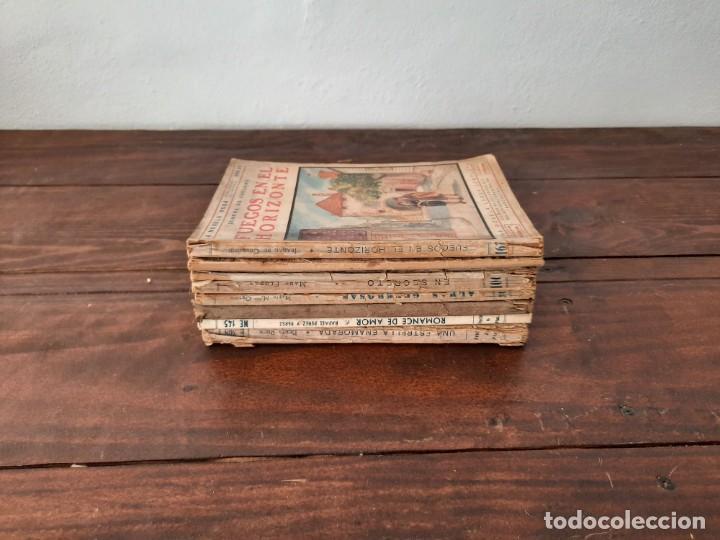 Libros antiguos: LOTE 8 NOVELAS LA NOVELA ROSA - AÑOS 20s, 30s y 40s - EDITORIAL JUVENTUD, BARCELONA - Foto 6 - 226442840