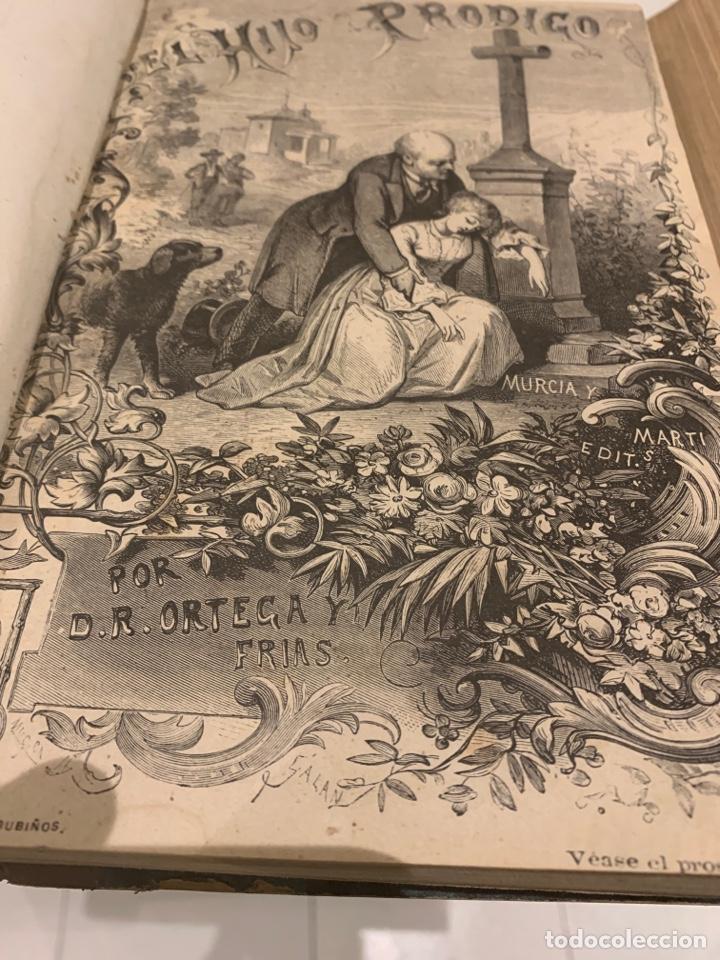 EL HIJO PRÓDIGO, DON RAMÓN ORTEGA Y FRÍAS, DOS TOMOS, 1887 (Libros antiguos (hasta 1936), raros y curiosos - Literatura - Narrativa - Novela Romántica)