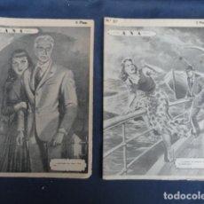 Libros antiguos: REVISTA NOVELA POR FASCÍCULOS - ANA - ED. HISPANO AMERICANA. Nº 9 Y Nº 27. Lote 229096105