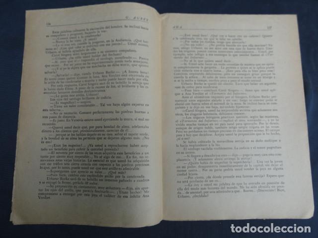 Libros antiguos: REVISTA NOVELA POR FASCÍCULOS - ANA - Ed. HISPANO AMERICANA. Nº 9 y Nº 27 - Foto 3 - 229096105