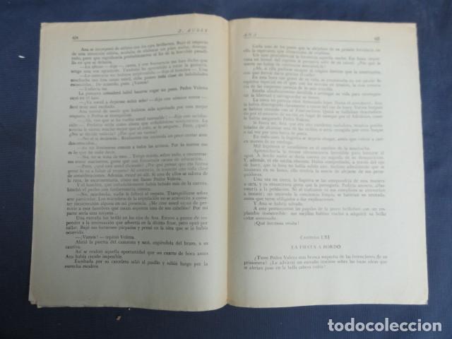 Libros antiguos: REVISTA NOVELA POR FASCÍCULOS - ANA - Ed. HISPANO AMERICANA. Nº 9 y Nº 27 - Foto 5 - 229096105