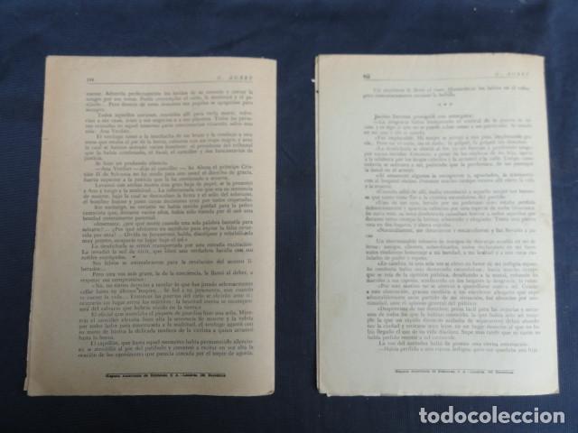 Libros antiguos: REVISTA NOVELA POR FASCÍCULOS - ANA - Ed. HISPANO AMERICANA. Nº 9 y Nº 27 - Foto 6 - 229096105