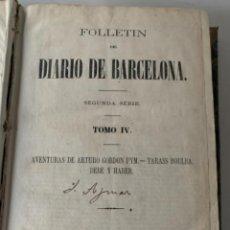 Libros antiguos: FOLLETÍN. Lote 233954740