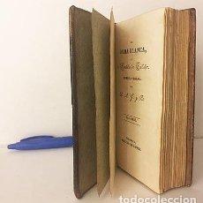Libros antiguos: LA DAMA BLANCA O EL CASTILLO DE GALLAFER. NOVELA MORAL POR D. A. G. Y R.… 1832. VALENCIA.. Lote 235615235
