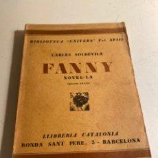 Libros antiguos: FANNY. Lote 235716145