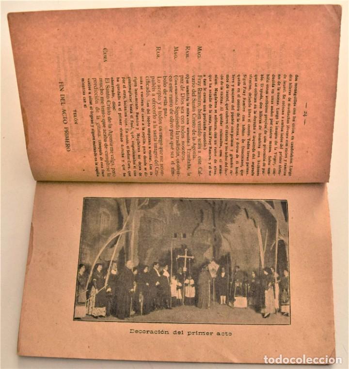 Libros antiguos: LA NAZARENA - RICARDO ESTRADA ESTRADA - DRAMA ROMÁNTÍCO EN TRES ACTOS - SOCIEDAD DE AUTORES 1914 - Foto 4 - 236248475