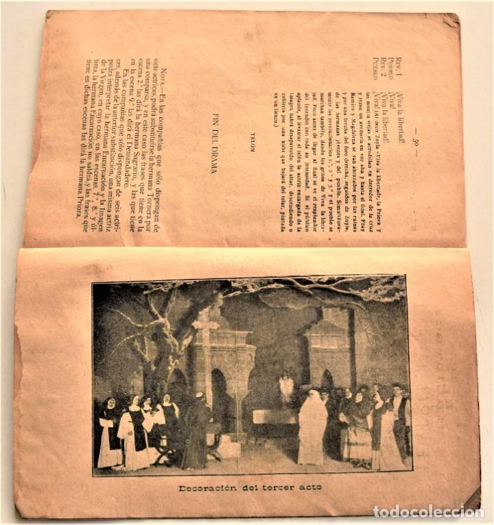 Libros antiguos: LA NAZARENA - RICARDO ESTRADA ESTRADA - DRAMA ROMÁNTÍCO EN TRES ACTOS - SOCIEDAD DE AUTORES 1914 - Foto 5 - 236248475