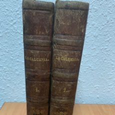 Libros antiguos: LA CALUMNIA. TOMOS I Y II. ENRIQUE PÉREZ ESCRICH. MADRID 1864. IMPRENTA MANNI HERMANOS.. Lote 244499535