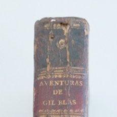 Libros antiguos: AVENTURAS DE GIL BLAS DE SANTILLANA - TOMO SEGUNDO - 1817- 415 PAG- 15X10 CM. Lote 244812300