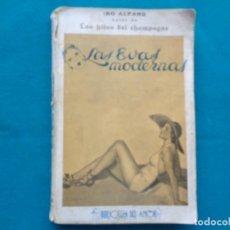 Libros antiguos: LAS EVAS MODERNAS, IBO ALFARO. Lote 244956410
