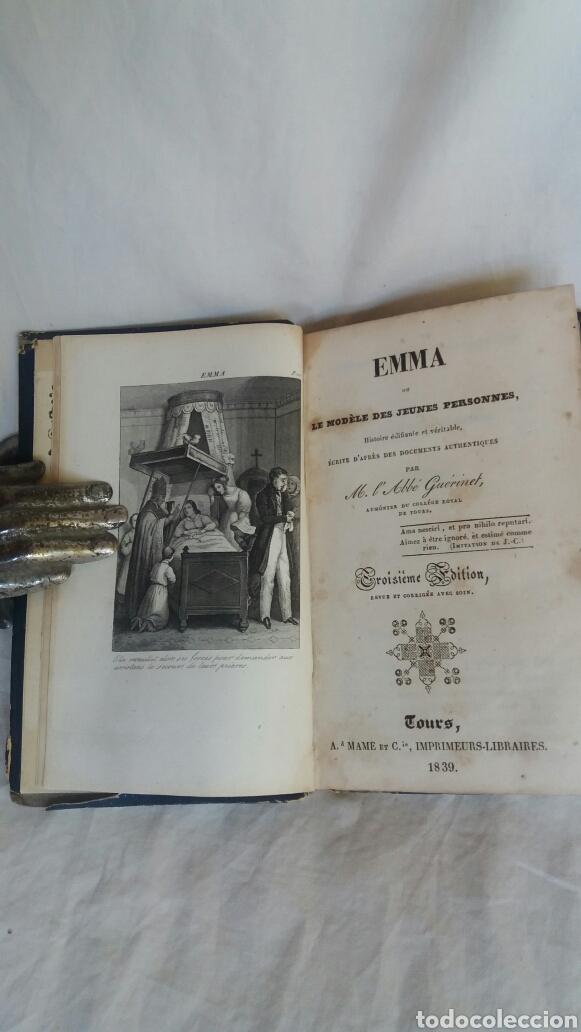 Libros antiguos: Emma libro editado en 1839 - Foto 3 - 255413665