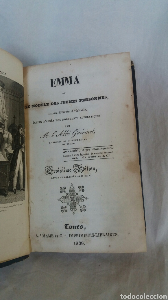 Libros antiguos: Emma libro editado en 1839 - Foto 4 - 255413665