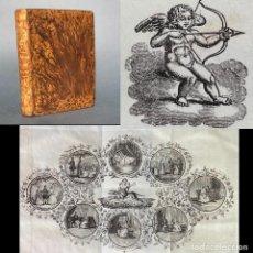 Libros antiguos: 1850 - EL SECRETARIO DE AMANTES - ARTE DE ENAMORAR - CORTEJO -. Lote 259827875