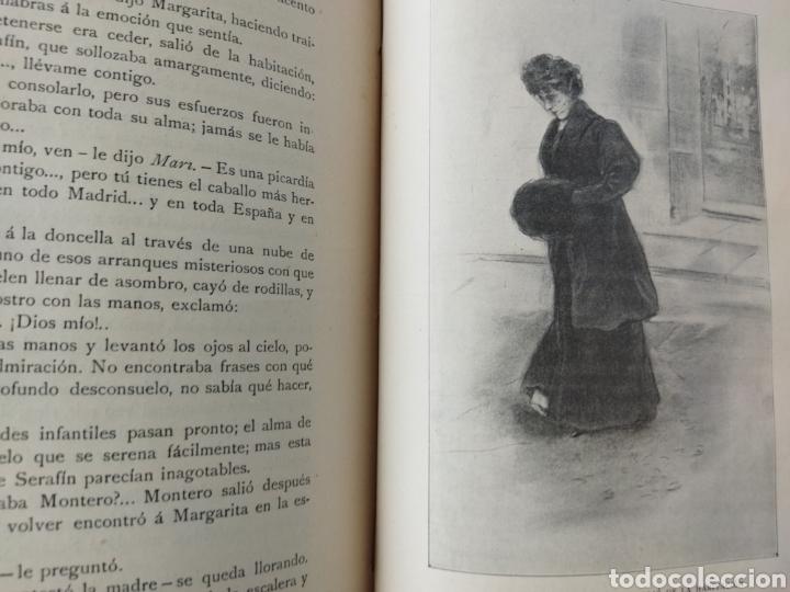 Libros antiguos: Deuda del Corazón/ El Ángel de la guarda TOMO II .1909 - Foto 6 - 262152040
