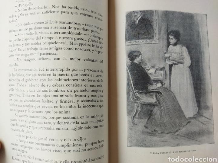 Libros antiguos: Deuda del Corazón/ El Ángel de la guarda TOMO II .1909 - Foto 10 - 262152040