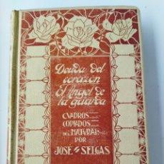 Libros antiguos: DEUDA DEL CORAZÓN/ EL ÁNGEL DE LA GUARDA TOMO II .1909. Lote 262152040