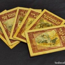 Livres anciens: LOTE DE 6 NOVELAS DE EMILIO SALGARI . CALLEJA AÑO 1935. VER FOTOS. Lote 263770375