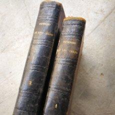Livres anciens: EL INFIERNO DE LOS CELOS- ENRIQUE PÉREZ ESCRICH, MADRID. (2 TOMOS) 1871. Lote 264517129