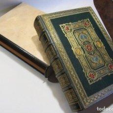 Libros antiguos: LAS GALAS DEL AMOR. FANTASIAS POR GAVARNI. MADRID, 1851. ENCUADERNACIÓN BRUGALLA (1947). Lote 265338459