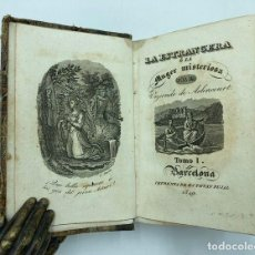 Libros antiguos: ARLINCOURT. LA EXTRANJERA Ó LA MUJER MISTERIOSA. 1849. Lote 269087983