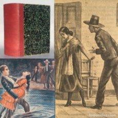 Libros antiguos: EL ÍDOLO DE TRIANA - MARIO D'ANCONA - TOROS - 2.408 PAGINAS. Lote 289242333